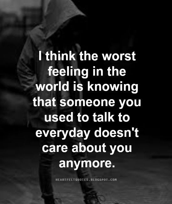 Heartfelt Quotes The Worst Feeling In The World Quotes