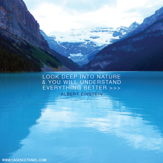Postcard Quotes Travel: Lake Louise, Canada