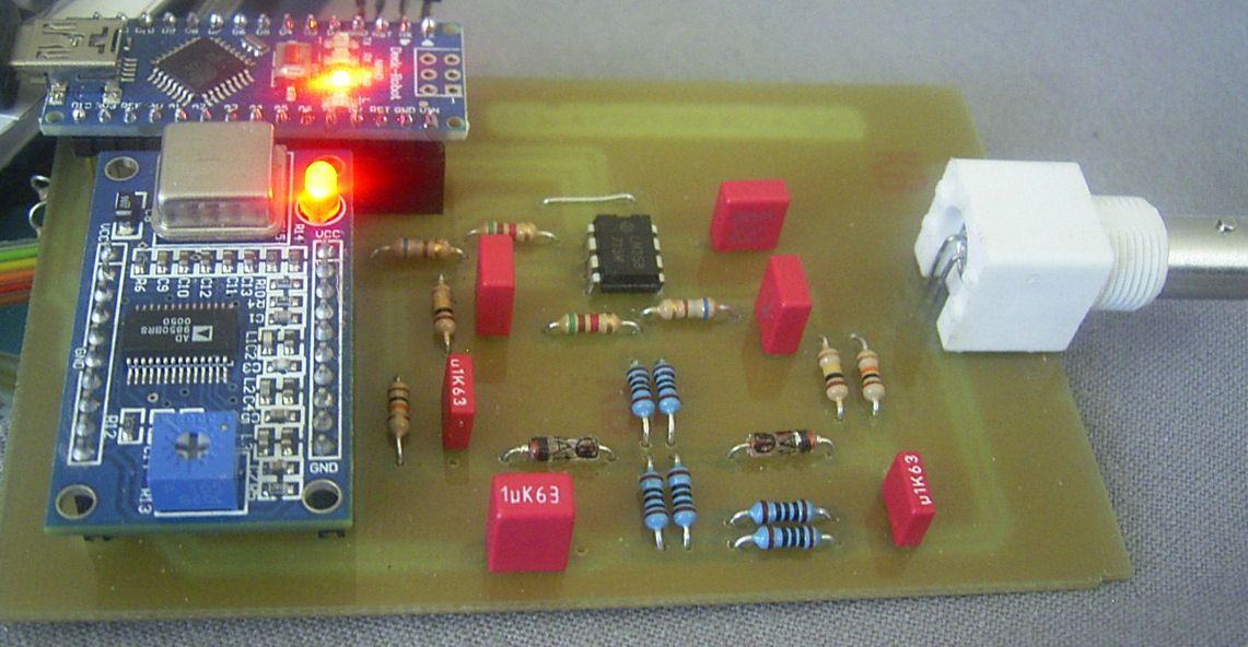 Радиоклуб Сигнал - Антенный анализатор на DDS AD9850 и