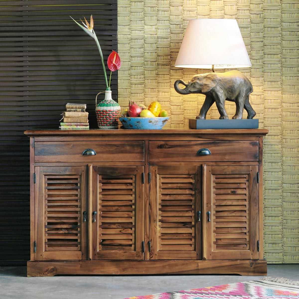 Buffet KEY LARGO | DECO A VOIR | Pinterest | Teak, Keys and Key largo