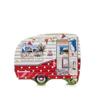 Debenhams Scottish biscuit assortment in a caravan shaped tin | Debenhams