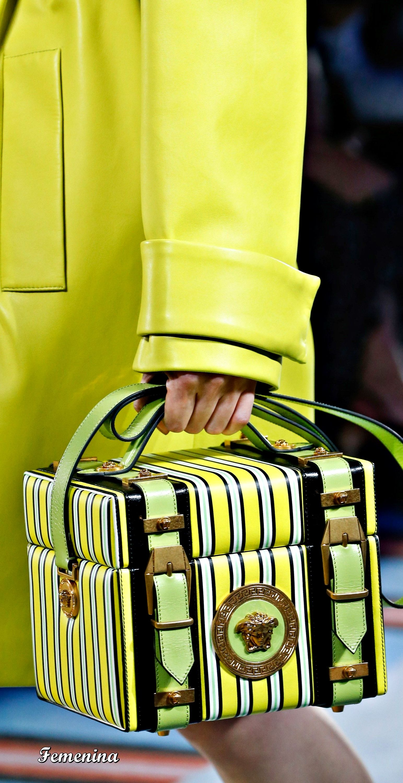 5fd89616c Versace Spring/Summer 2019 RTW-Details #bag | Designer Handbags in ...