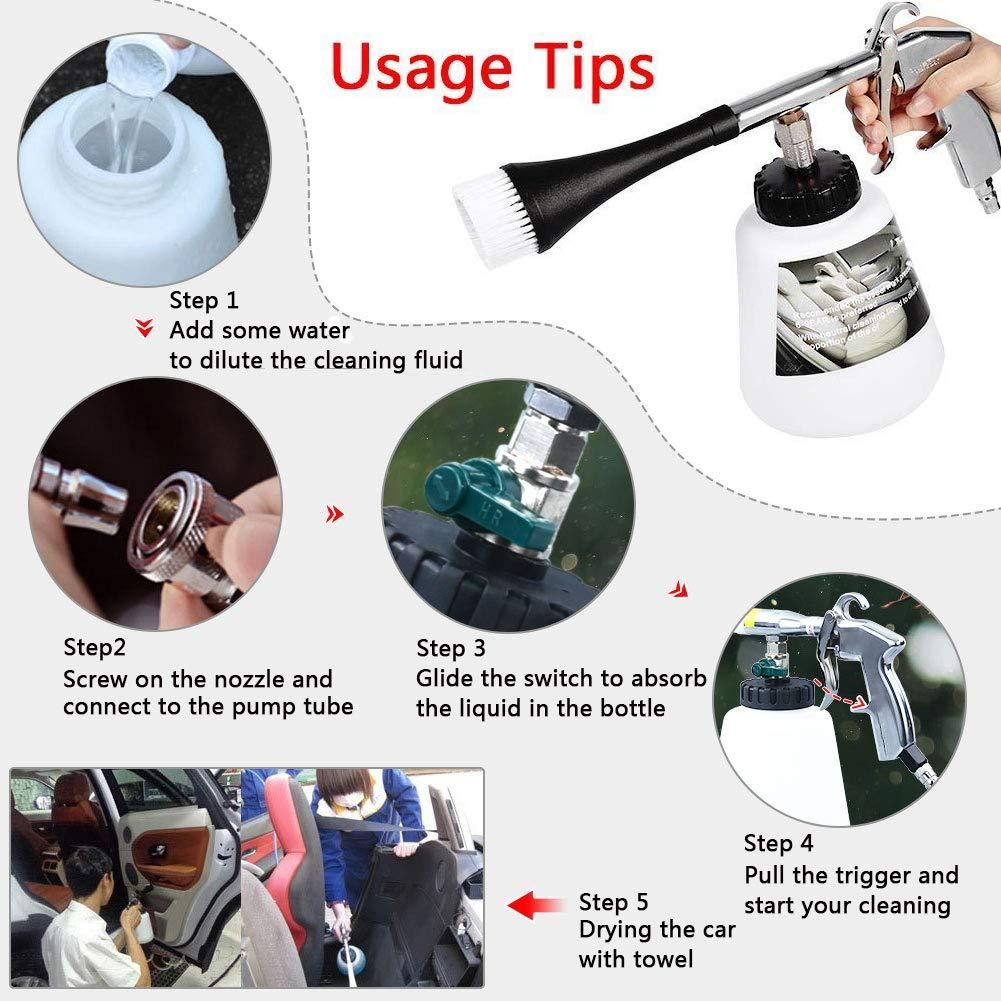 Car High Pressure Cleaning Tool Car Cleaning Cleaning Car Interior Car Cleaning Hacks