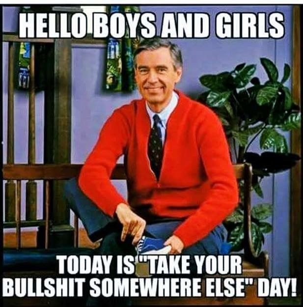 My Favourite Day Friday Funny Pictures Mr Rogers Funny Today