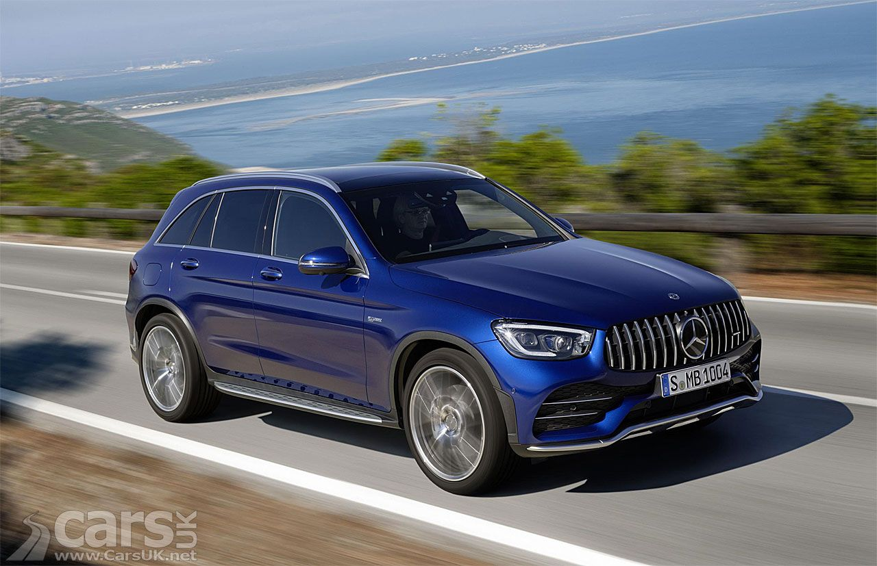 New Mercedes Amg Glc43 Suv And Coupe Get New Looks And More Power