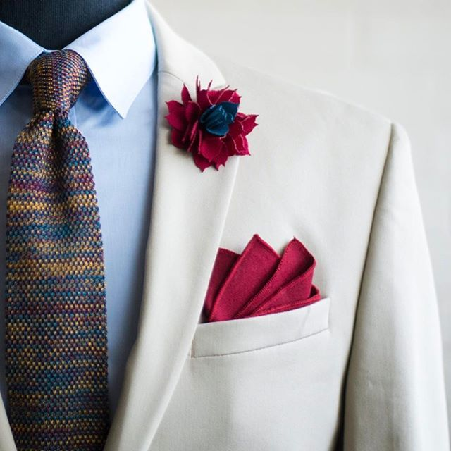 "Putting on a beautifully designed suit elevates my spirit, extols my sense of self, and helps define me as a man to whom details matter."" – Gay Talese WWW.KINGKRAVATE.COM --- #mensfashion #menswear #menstyle #mensapparel #mensclothing #fashion #style #dapper #bespoke #followforfollow #buffalony #wny #Buffalo #gq #streetfashion #stylish #details #stylist #luxury #lifestyle #suit #suitandtie #fashionblog #styleblog #kingkravate"