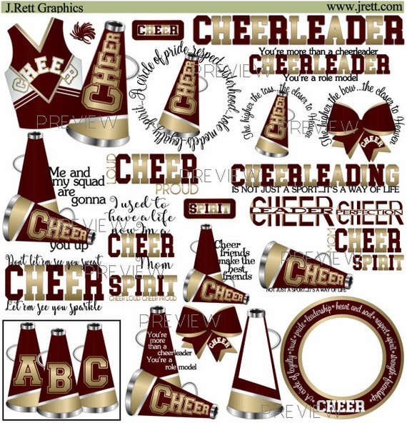 Cheerleader clip art on cheerleading stick figures and cheer - ClipartBarn