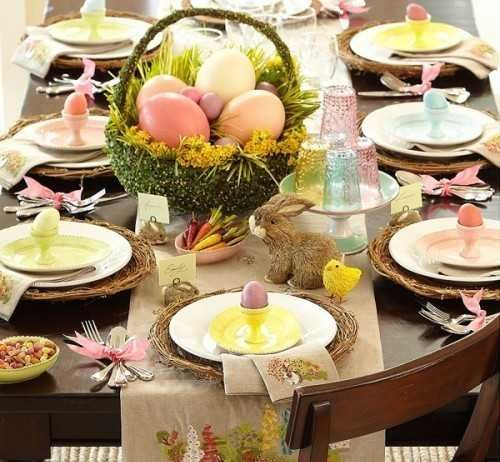 Стол к празднику (With images) | Pottery barn easter ...