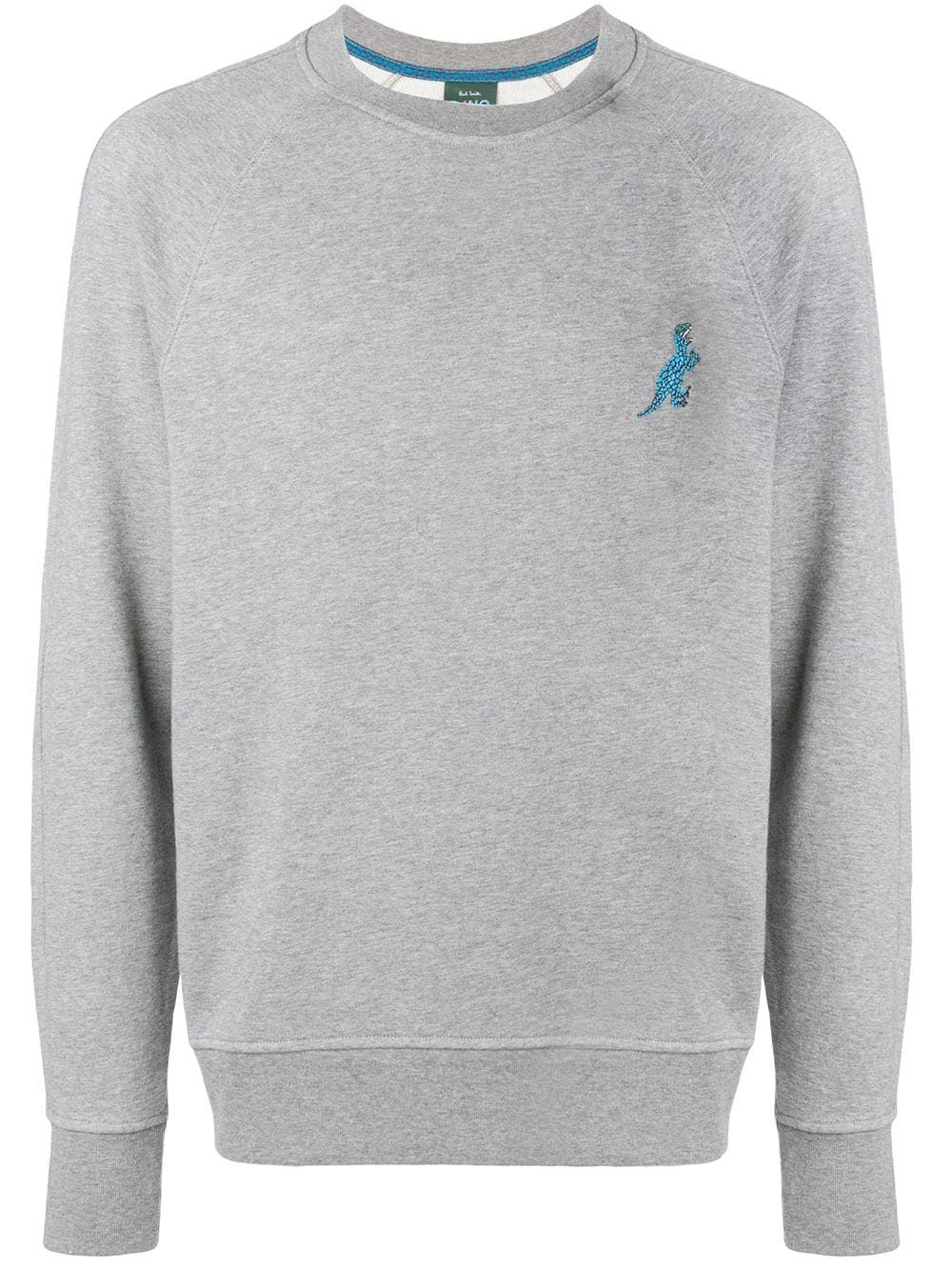 Ps Neck Jumper Grey Smith Crew By Paul b7IfyvY6g