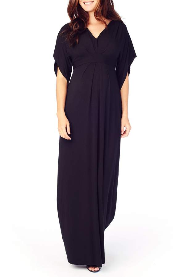 e73a3909b0e37 Women's Ingrid & Isabel Split Sleeve Maternity Maxi Dress, Size X ...