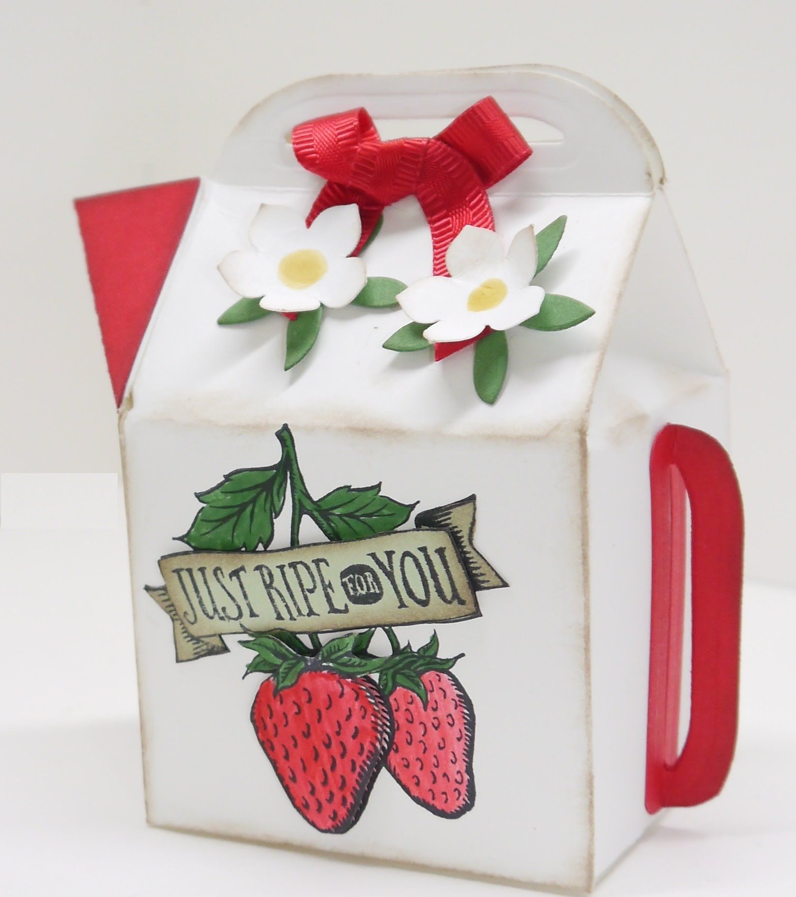 Anleitung Leckerei-Box mit Stempelset Market-Fresh   DIY Gift box ...