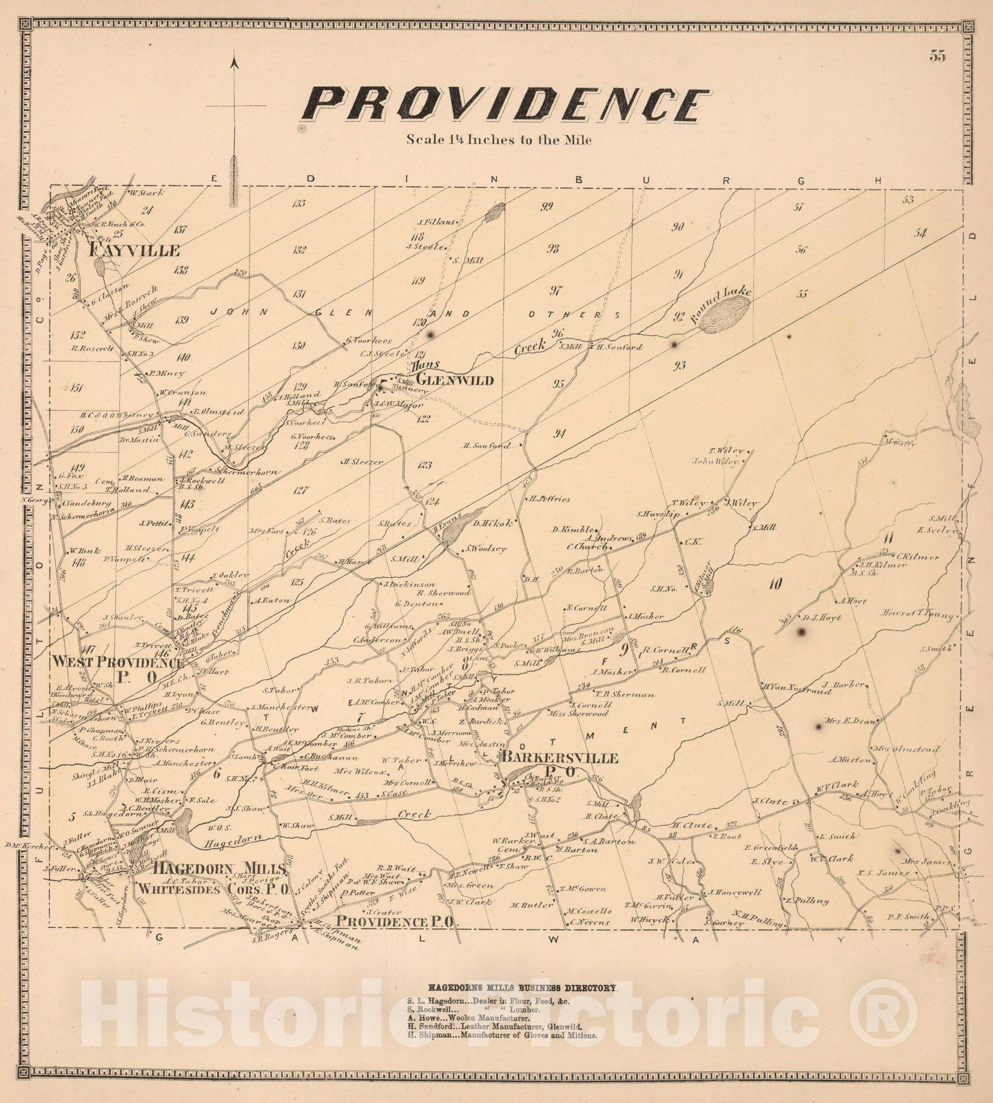 <p>Providence, Saratoga County, New York., 1866</p>