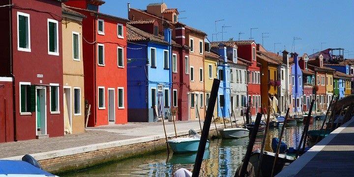 Burano, Venice, northern Italy, Italy, Europe