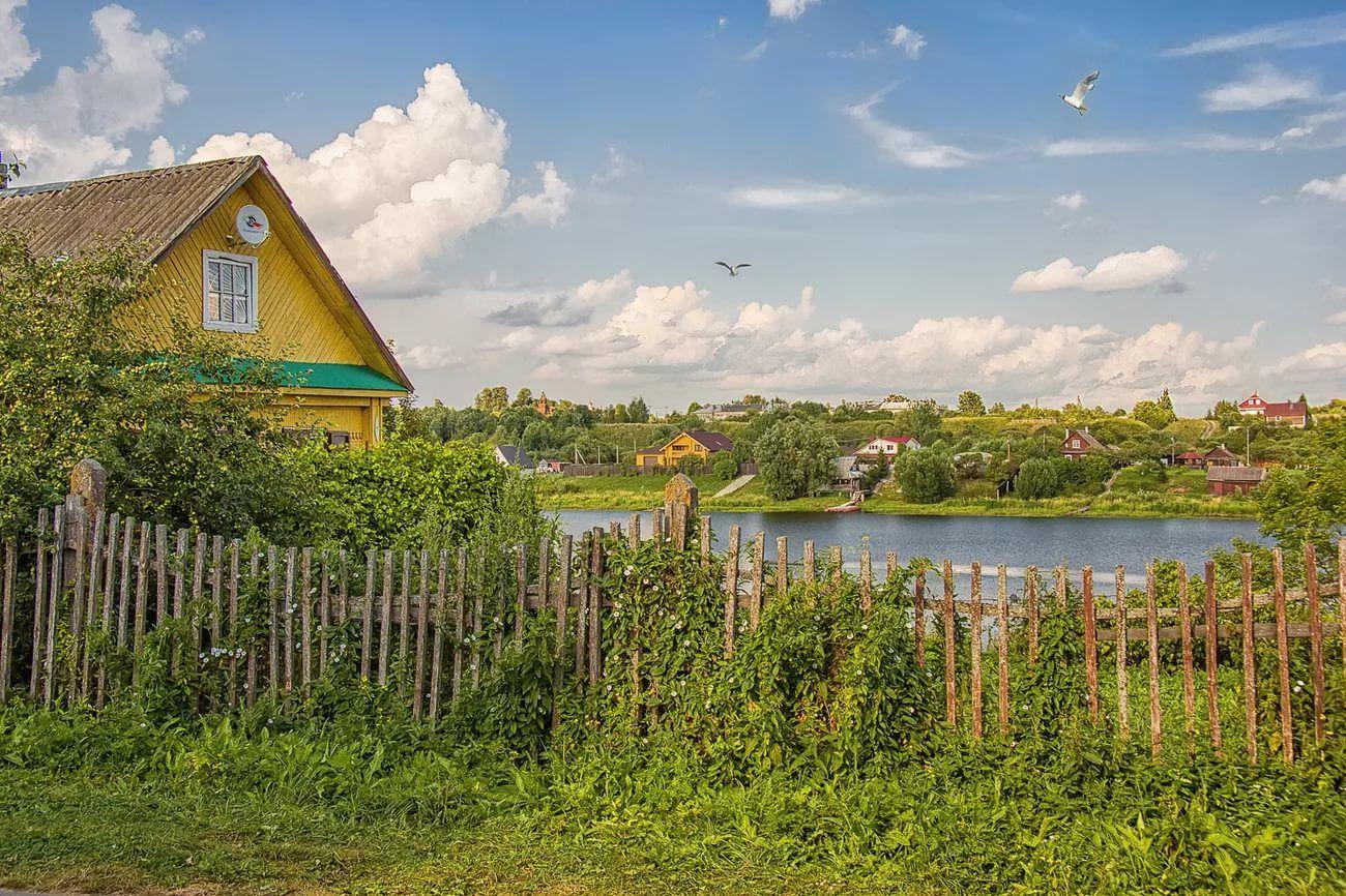 Фото россии природа деревня
