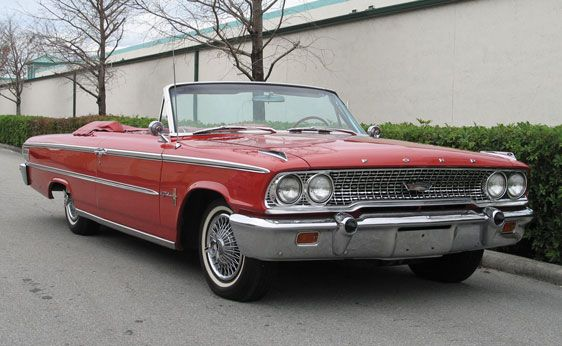 1963 Ford Galaxie 500 XL Convertible  Ford Galaxie 63 64 65