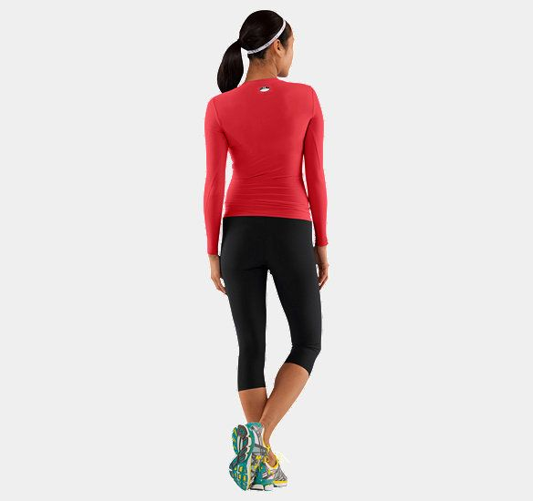 Women's HeatGear® Longsleeve Compression T-Shirt