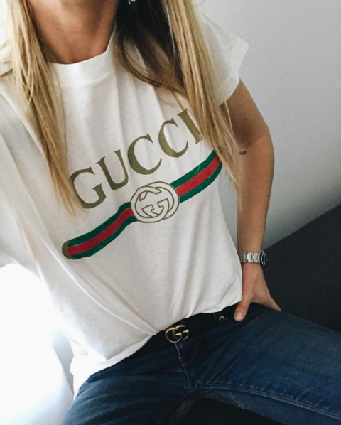 77f91999 7 Stylish Ways To Wear A T-Shirt This Season | My Style | Gucci ...