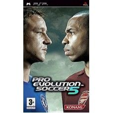Pro Evolution Soccer 5 For Sony Playstation Portable Psp From