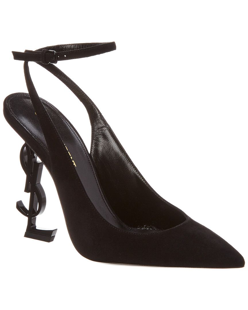 c1e9b8de764 SAINT LAURENT SAINT LAURENT OPYUM SLINGBACK SUEDE PUMP.  saintlaurent  shoes