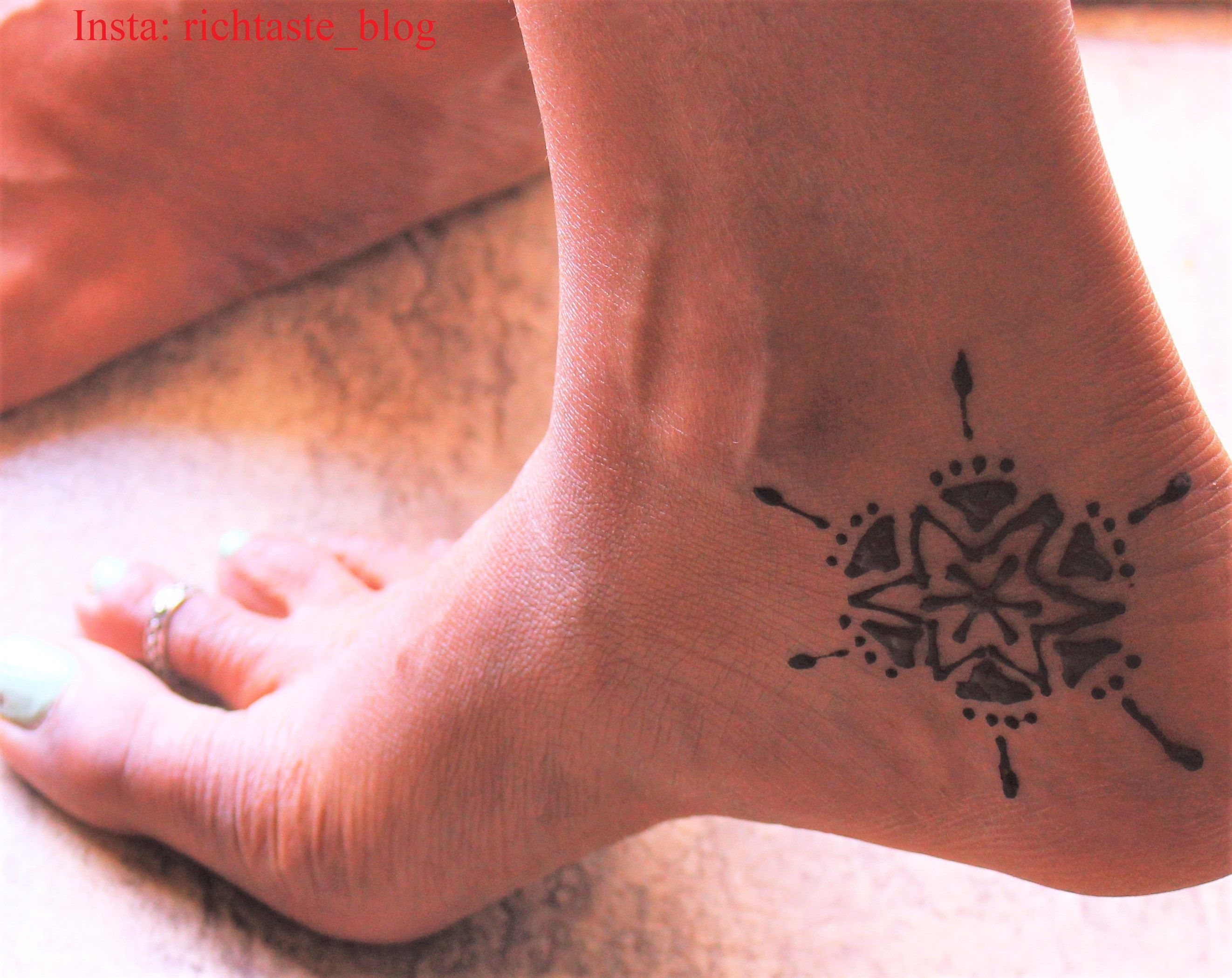 Mehndi Leg Easy Designs : Latest beautiful mehndi designs for legs feet nat beauty