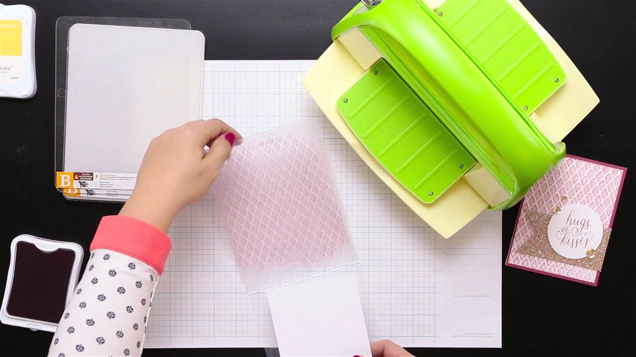 how to use embossing buddy