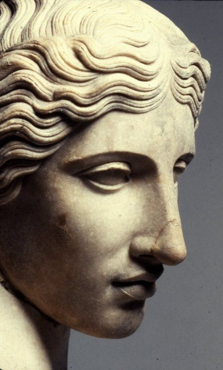Very similar to my own profile / look.                              … #greekstatue