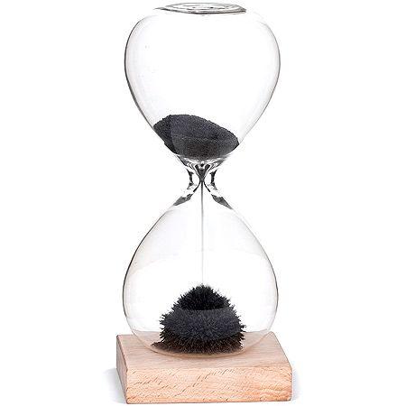 Desk Sand Time Clock Westminster Magnetic  Glass Timer Desktop Office Toy