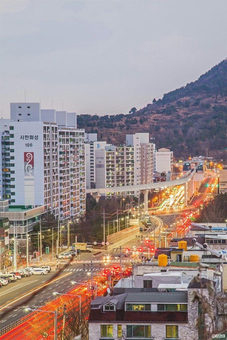Daegu, Korea 지산동 범물동
