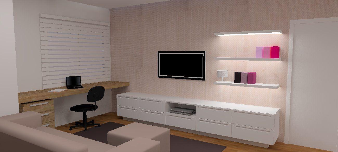 O Ambiente Ideal Home Theater E Office Integrados