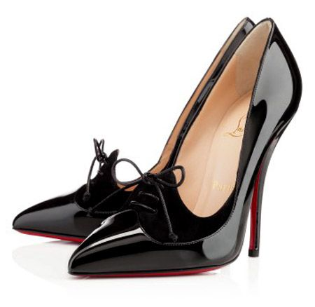 louboutin evening nero