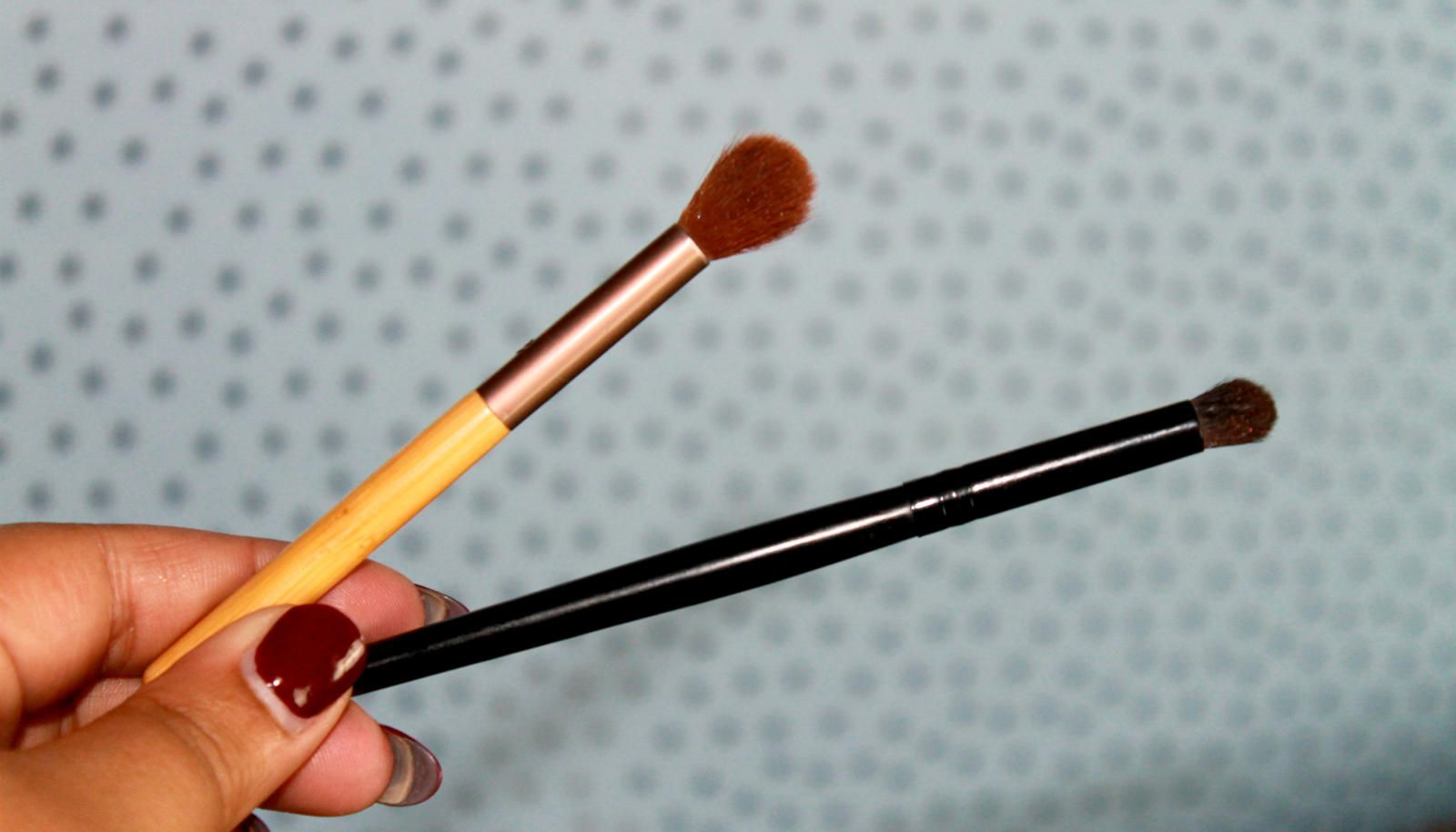The Only Two Brushes You Need To Blend Eye Shadow Like A Boss. I use these brushes to blend, blend, blend!