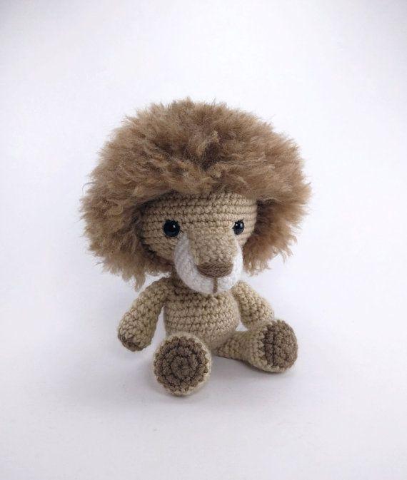 Pattern Lewis The Lion Crochet Lion Pattern Amigurumi Lion