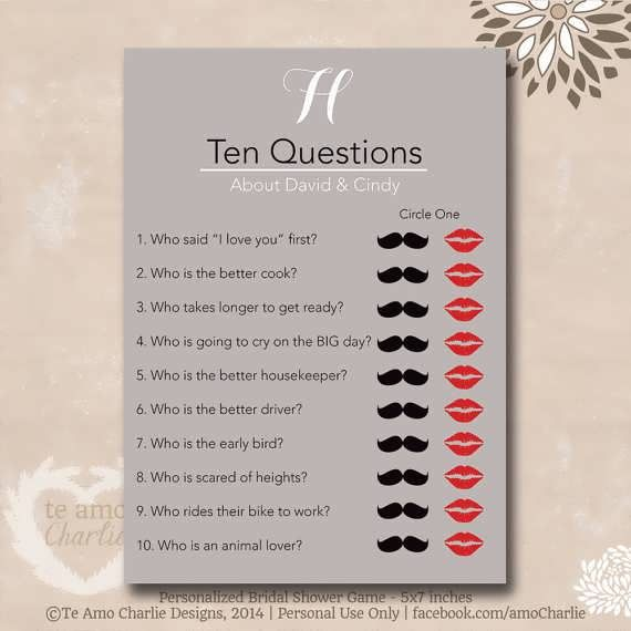3a20609eafb0 him or her bridal shower game questions