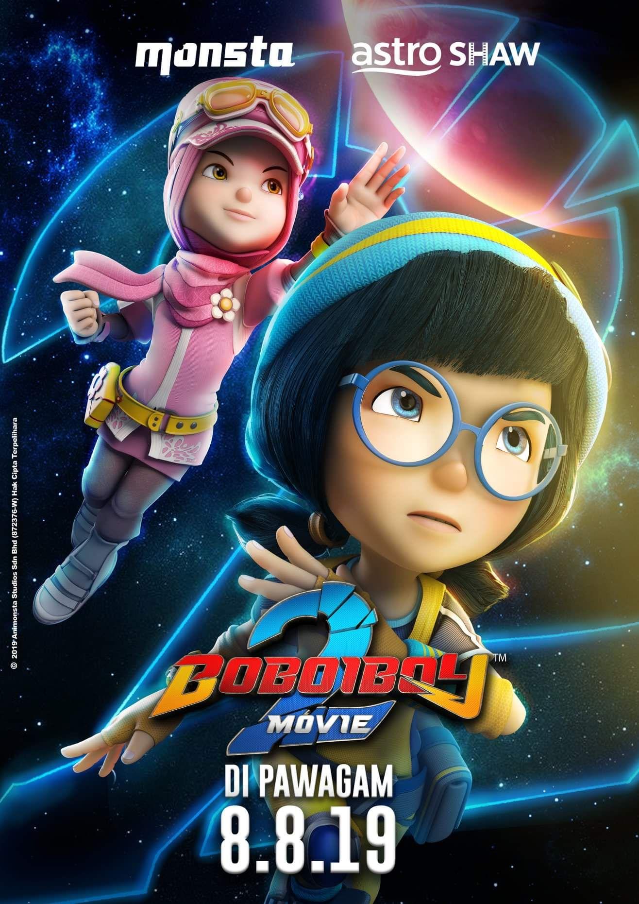 BoBoiBoy Movie 2 Boboiboy Wiki Fandom in 2020 Galaxy