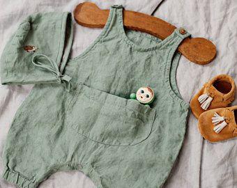 Junge gutes Angebot besondere Auswahl an Leinen Overall, grün Baby insgesamt, insgesamt für Kinder ...