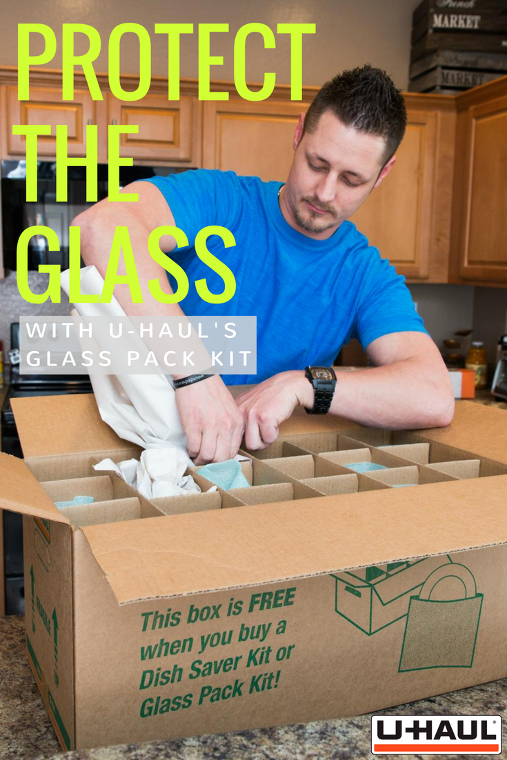 No More Broken Glass During Your Move Our Glass Pack Kit Is