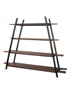 Librería Escalera Tablón madera