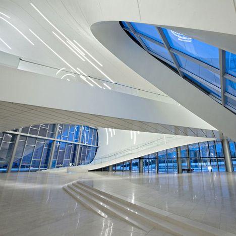 Heydar Aliyev Center Baku Azerbaijan Zaha Hadid 2013 S