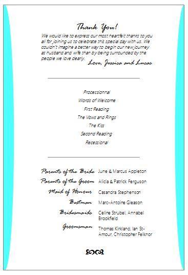 Free Wedding Program Fan Wording Wedding Program Fans Wedding Programs Diy Wedding Program Fans