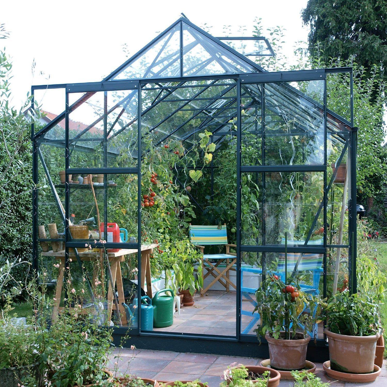 Serre De Jardin En Verre Trempe 3 Mm Lams Laurus Uranus 8300 Vert 8 25 M Lams En 2020 Serre Jardin Jardins Et Serre