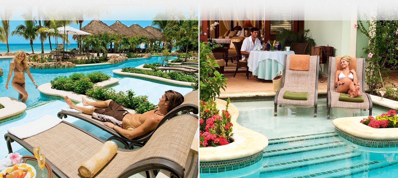 Swim-up Suites at Sandals Negril Resort in Jamaica ...