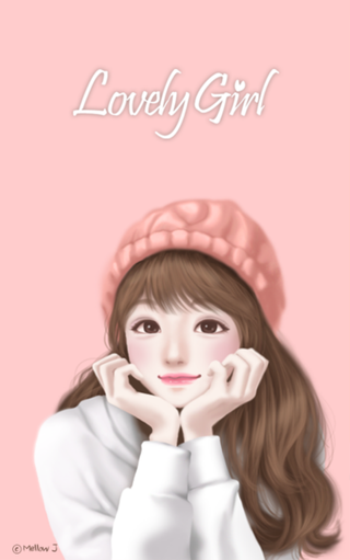 Wallpaper Gambar Kartun Korea Cantik Dan Imut