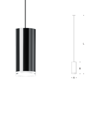 Pendant with crystal glass pendant mounted led and metal halide pendant with crystal glass pendant mounted led and metal halide cylinder luminaires with a widespread mozeypictures Images