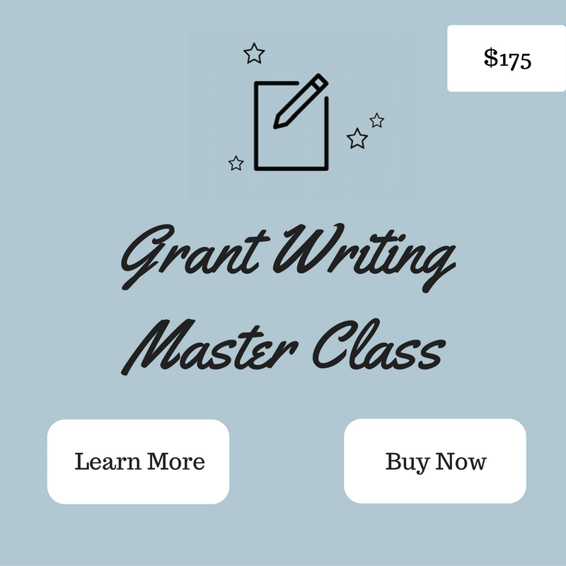 ALL NEW GRANT WRITING MASTER COURSE! The Grant Writing
