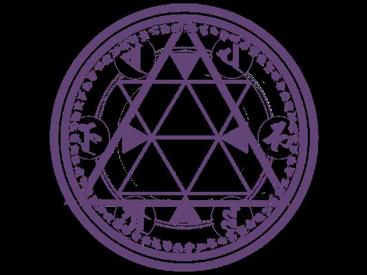 七芒星の魔法陣 魔法陣 魔法円 星