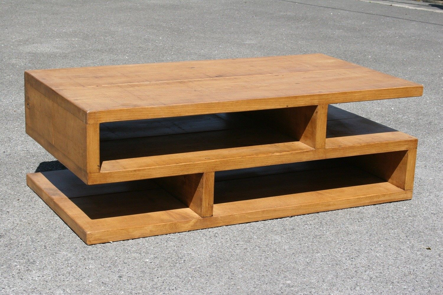 Best Rustic S Shape Coffee Table Plasma Tv Stand Richard 640 x 480