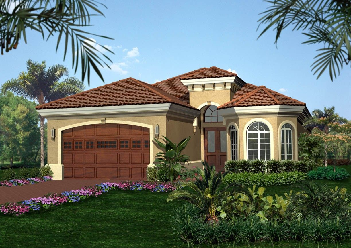 Plan 66025WE Tuscan Style House Plan Home Plans