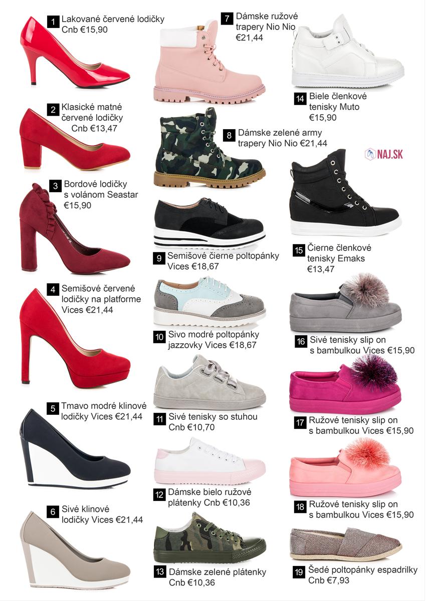 Nové topánky z kolekcie jar leto 2018  ad1a579e903
