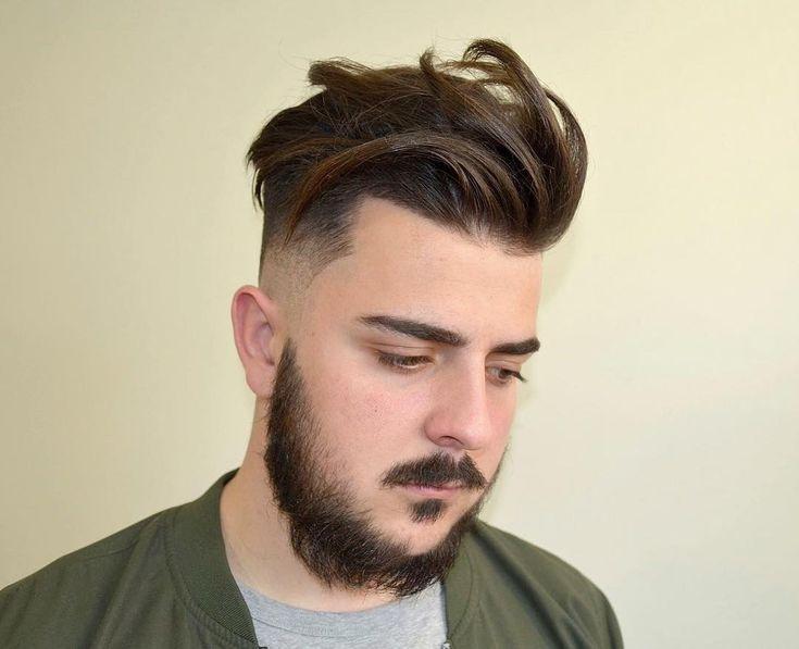 Quiff Haircut For Round Face Wavy Haircut | Kleinkinder haarschnitt, Abgehackte haarschnitte ...