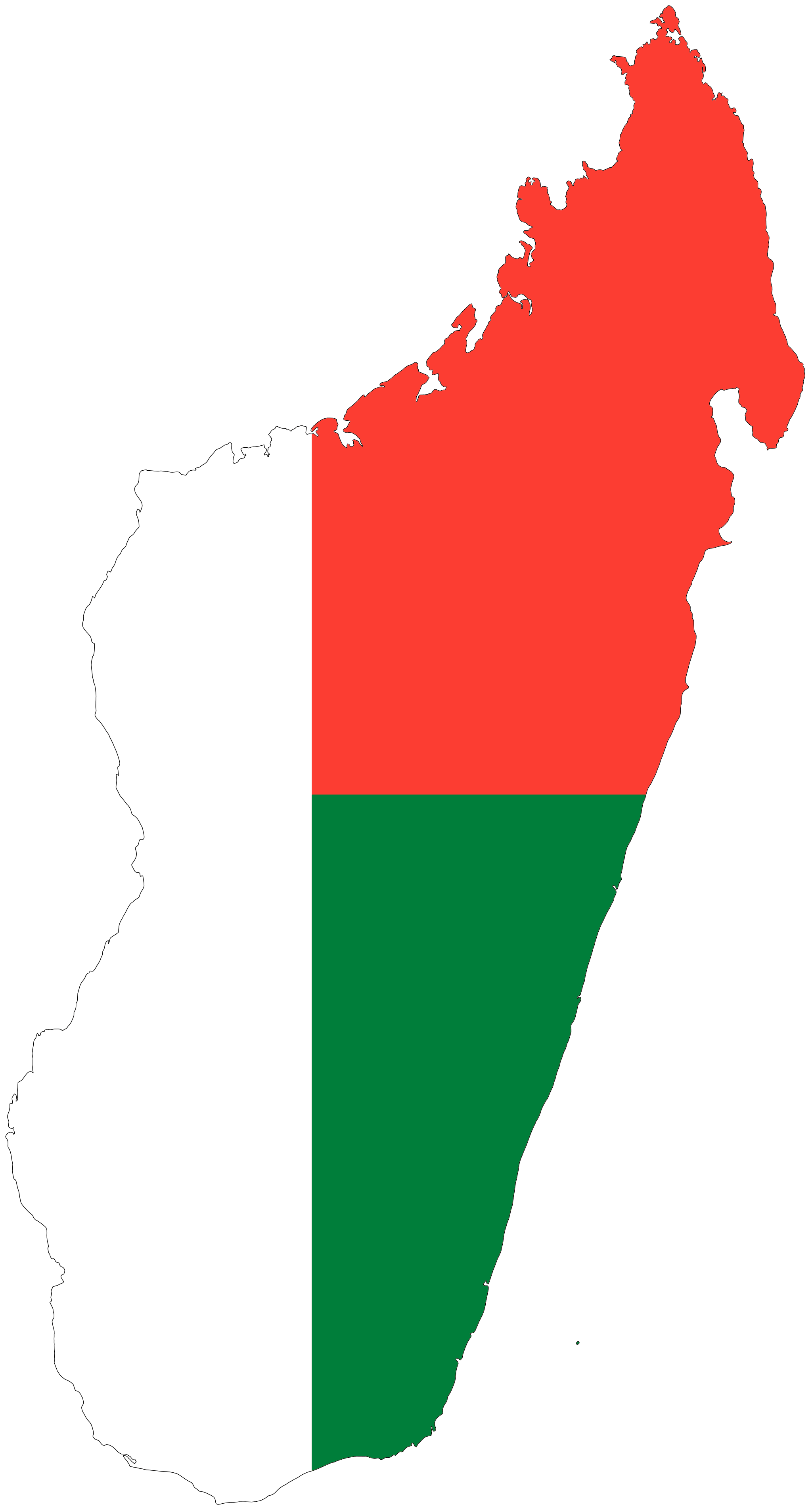 Flag Map Of Africa.Madagascar Flag Map Africa Madagascar Flag Africa Map Madagascar